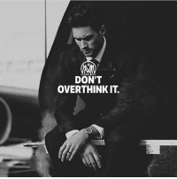 Memes, World, and Thought: MALIONAIRS  DON'T  OVERTHINKIT. 98% of your problems would be solved if you stopped overthinking thing and clam the f*ck down! Just remember, there's nothing in this world that can trouble you as much as your own thoughts.🔥 - thought problems overthinking millionairementor