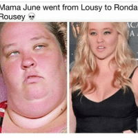 Memes, 🤖, and Mama: Mama June went from Lousy to Ronda  Rousey