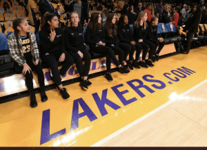 Mamba Academy teammates sit court side for tonight's game https://t.co/8kN4b1aa1F: Mamba Academy teammates sit court side for tonight's game https://t.co/8kN4b1aa1F