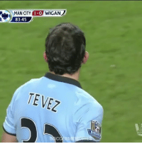 Carlos Tevez amazing goal in his days in Manchester City, what a goal! 🔥👏 👥 Tag Your Friends: MAN CITY  1-0 WIGAN  83:45  TE VE Carlos Tevez amazing goal in his days in Manchester City, what a goal! 🔥👏 👥 Tag Your Friends