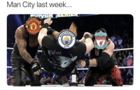 Soccer, Sports, and Who: Man City last week...  CHE  CITY Tag your friend who supports City 😂