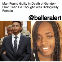 Friday, Head, and Life: Man Found Guilty in Death of Gender-  Fluid Teen He Thought Was Biologically  Female  @balleralert Man Found Guilty in Death of Gender-Fluid Teen He Thought Was Biologically Female - Blogged by: @RaquelHarrisTV ⠀⠀⠀⠀⠀⠀⠀⠀⠀ ⠀⠀⠀⠀⠀⠀⠀⠀⠀ On Friday, 90 minutes was all a jury needed to give 23-year-old JorgeSandersGalvez's guilty verdict in the murder of KedarieJohnson, a gender-fluid teenager. ⠀⠀⠀⠀⠀⠀⠀⠀⠀ ⠀⠀⠀⠀⠀⠀⠀⠀⠀ Sanders-Galvez and his friend, Jaron Purham, were found guilty of first-degree murder in the killing of Johnson, who was found dead in an alley with two gunshots in his chest on March 2, 2016. ⠀⠀⠀⠀⠀⠀⠀⠀⠀ ⠀⠀⠀⠀⠀⠀⠀⠀⠀ Sanders-Galvez and Purham gagged Johnson, covered his head in a bag and drenched his body with bleach. ⠀⠀⠀⠀⠀⠀⠀⠀⠀ ⠀⠀⠀⠀⠀⠀⠀⠀⠀ Sanders-Galvez and Purham met Johnson in a Hy-Vee and were under the impression that Johnson was biologically female. At the time, Johnson was wearing leggings, hair extensions with a pink head band. The two decided they wanted to take the teen back to a local but popular meeting spot for sex. ⠀⠀⠀⠀⠀⠀⠀⠀⠀ ⠀⠀⠀⠀⠀⠀⠀⠀⠀ Prosecutors say when the duo discovered Johnson wasn't biologically female they stuffed a plastic bag down his throat, covered his mouth with a ripped T- shirt, went to an alley and killed him. ⠀⠀⠀⠀⠀⠀⠀⠀⠀ ⠀⠀⠀⠀⠀⠀⠀⠀⠀ The trial lasted only nine days with two days of jury selection. The jury consisted of eleven Caucasians and one African-American person. ⠀⠀⠀⠀⠀⠀⠀⠀⠀ ⠀⠀⠀⠀⠀⠀⠀⠀⠀ Sanders-Galvez will be officially sentenced to mandatory life in prison on Dec. 18 without any possibility of parole. Purham will be tried separately and also charged with first-degree murder.