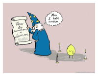 Com, Cursive, and Man: Man  I hate  cursive.  to  au  JimBentonGOcomics.com Dont we all