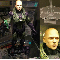Batman, Future, and God: MAN  LXC-GOD KILLER 1.0 I hope this is the lex Luthor we get in the future DCEU movies! Fun fact his suit is a repurpose version of General Zods suit from Man of steel! 👏👏👏👏 Repost from @colecionatoy What do you think? 🤔🤔🤔🤔🤔Feel free to comment and share just give credit! . . . . . . . . . . . . . . . . . . justiceleague lexluthor batman superman flash cyborg aquaman benaffleck ezramiller jasonmomoa galgadot rayfisher bvs batmanvsuperman zacksnyder suicidesquad wonderwoman brucewayne josswhedon mattreeves dc dceu dccomics dcuniverse joker jaredleto injustice2 jesseeisenberg new52