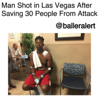 "Cars, Life, and Memes: Man Shot in Las Vegas After  Saving 30 People From Attack  @balleralert Man Shot in Las Vegas After Saving 30 People From Attack-blogged by @thereal__bee ⠀⠀⠀⠀⠀⠀⠀⠀⠀ ⠀⠀ Though the horrific incident in LasVegas has taken the news by storm, one man is now being acknowledged for his heroism. ⠀⠀⠀⠀⠀⠀⠀⠀⠀ ⠀⠀ 30-year-old JonathanSmith, a copy machine repairman, dedicated his life that night to ushering more than 30 people to safe hiding places behind cars during the moments of the attack. ⠀⠀⠀⠀⠀⠀⠀⠀⠀ ⠀⠀ In doing so, Smith suffered his own injuries after being shot in the neck. ""I couldn't feel anything in my neck. There was a warm sensation in my arm,"" he told the Washington Post. ⠀⠀⠀⠀⠀⠀⠀⠀⠀ ⠀⠀ Luckily though, Smith was able to walk out of the hospital, despite his fractured collarbone, a cracked rib and a bruised lung. ⠀⠀⠀⠀⠀⠀⠀⠀⠀ ⠀⠀ As far as the bullet that could have almost taken his life, Smith says the bullet remains in place as doctors fear that removing it could cause more damage. ""I might have to live with this bullet for the rest of my life,"" Smith said. ⠀⠀⠀⠀⠀⠀⠀⠀⠀ ⠀⠀ When it comes to how he feels about his new heroic status Smith said, ""I would want someone to do the same for me. No one deserves to lose a life coming to a country music festival."""