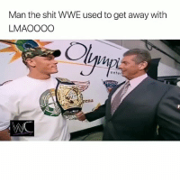 BRUH 😮😩 johncena: Man the shit WWE used to get away with  LMAOOOO  IM  enter BRUH 😮😩 johncena