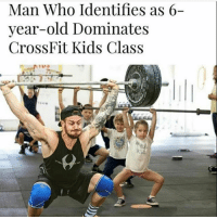 America, Memes, and Savage: Man Who Identifies as 6-  year-old Dominates  CrossFit Kids Class I can't!!😂😂😂😂 liberal maga conservative constitution like follow presidenttrump resist stupidliberals merica america stupiddemocrats donaldtrump trump2016 patriot trump yeeyee presidentdonaldtrump draintheswamp makeamericagreatagain trumptrain triggered Partners --------------------- @too_savage_for_democrats🐍 @raised_right_🐘 @conservativemovement🎯 @millennial_republicans🇺🇸 @conservative.nation1776😎 @floridaconservatives🌴