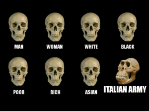 Asian, Army, and Black: MAN  WOMAN  WHITE  BLACK  RICH  ASIAN ITALIAN ARMY  POOR The first recorded hard carry