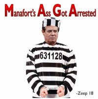 America, Donald Trump, and Trump: Manaforts As Got Arrested  631128  -Zeep 18 Womp, womp...  JOIN THE RESISTANCE at America Against Donald Trump <<<