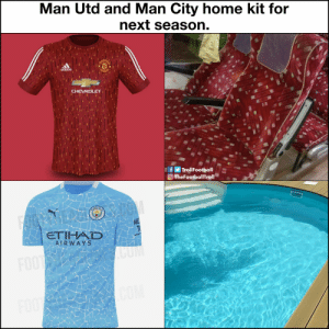 Manchester derby next season: Bus seat fc vs Swimming pool floor fc https://t.co/P04Ot6eTaD: Manchester derby next season: Bus seat fc vs Swimming pool floor fc https://t.co/P04Ot6eTaD