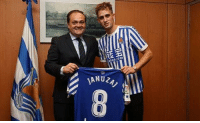Club, Memes, and Spanish: Manchester United have confirmed Adnan Januzaj has left the club to join Real Sociedad. - Januzaj has signed a five-year contract with the Spanish club.
