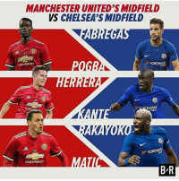 Tight one! Which midfield will come out on top? Comment Below! ❤️🔥👹 . . . . . manutd mufc manchesterunited degea united neymar footy football soccer rooney sfs s4s like selfie followback followme followforfollow likeforlike goals zlatan pogba mata cr7 nike adidas messi ibrahimovic Ronaldo lol: MANCHESTER UNITED'S MIDFIELD  VS CHELSEA'S MIDFIELD  EVROLET  YOKOHAMA  TYRE  HAMA  RES  CHEVROLET  B R Tight one! Which midfield will come out on top? Comment Below! ❤️🔥👹 . . . . . manutd mufc manchesterunited degea united neymar footy football soccer rooney sfs s4s like selfie followback followme followforfollow likeforlike goals zlatan pogba mata cr7 nike adidas messi ibrahimovic Ronaldo lol