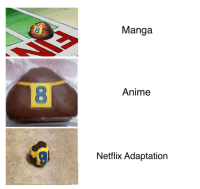 Anime, Meme, and Netflix: Manga  8  Anime  Netflix Adaptation is this meme dead?