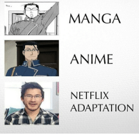 Netflix: MANGA  ANIME  NETFLIX  ADAPTATION