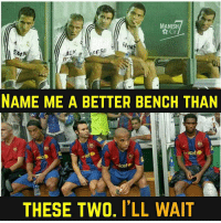 Amazing Benches... 😍🔥 🔻LINK IN OUR BIO! 😅😎: MANISH  Cr  EN  AEN  CE  MAN  NAME ME A BETTER BENCH THAN  unicef  nice fur  THESE TWO. ILL WAIT Amazing Benches... 😍🔥 🔻LINK IN OUR BIO! 😅😎