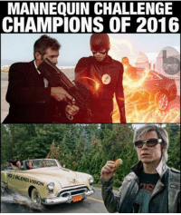 Avengers, Mannequin, and Sion: MANNEQUIN CHALLENGE  CHAMPIONS OF 2016  SION ~Agent Coulson~