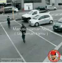 Indonesian (Language), Now, and  Tag: Manusia Jaman Now  (tag teman kamu)  Instagrawoate