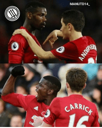 """Paul Pogba on his partnership with Michael Carrick and Ander Herrera: """"It's true we're complementary. There's Michael behind us to dictate play. I'm a bit more attacking, a bit higher up the pitch, so I'm closer to Zlatan too. Ander is there, dictates play, presses. I think the three of us complement each other."""" . mufc manchesterunited ggmu mourinho davesaves reddevils oldtrafford darmian mkhitaryan ibrahimovic bailly schweinsteiger pogba waynerooney martial anderherrera rashford philjones daleyblind lingard ashleyyoung valencia lukeshaw smalling daviddegea juanmata manutd14_ manutd14_id: MANUTD14  RRIC Paul Pogba on his partnership with Michael Carrick and Ander Herrera: """"It's true we're complementary. There's Michael behind us to dictate play. I'm a bit more attacking, a bit higher up the pitch, so I'm closer to Zlatan too. Ander is there, dictates play, presses. I think the three of us complement each other."""" . mufc manchesterunited ggmu mourinho davesaves reddevils oldtrafford darmian mkhitaryan ibrahimovic bailly schweinsteiger pogba waynerooney martial anderherrera rashford philjones daleyblind lingard ashleyyoung valencia lukeshaw smalling daviddegea juanmata manutd14_ manutd14_id"""