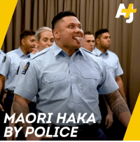 Memes, Police, and Women: MAORI HAKA  BY POLICE These men and women who just became police officers performed a Maori Haka at their graduation.