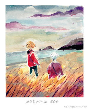 maplevogel:  Trying on Gouache for the first time in at least a decade! Its fun but I am still very lost on how to paint with it!!! QAQ: maplevogel tumblr.com maplevogel:  Trying on Gouache for the first time in at least a decade! Its fun but I am still very lost on how to paint with it!!! QAQ