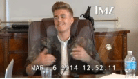 Justin Bieber sighs, grunts, gesticulates ... and is generally ornery during his marathon deposition Friday.  This mash-up is representative of all of Bieber's antics as he did everything humanly possible to avoid answering questions.  On one level he comes off incredibly unlikeable, but when you put some of the classic moments together it's kind of hysterical.  Enjoy!: MAR 6 014 12 52 1 1 Justin Bieber sighs, grunts, gesticulates ... and is generally ornery during his marathon deposition Friday.  This mash-up is representative of all of Bieber's antics as he did everything humanly possible to avoid answering questions.  On one level he comes off incredibly unlikeable, but when you put some of the classic moments together it's kind of hysterical.  Enjoy!