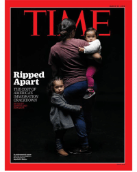 """America's immigration policy is splitting families and spreading fear . . Just before 7:30 one Friday morning last March, Alejandro said goodbye to his wife Maria and his two small daughters and headed off to work. He didn't make it far. Four blocks from his home near Bakersfield, Calif., two unmarked vehicles, a white Honda and a green Mazda pickup truck, pulled up behind him at a stop sign. Plain-clothes Immigration and Customs Enforcement (ICE) agents spilled out. They wore vests emblazoned with the word Police. . . Alejandro dialed Maria from his cell phone and told her what was happening. Her heart dropped. She said later that she knew it wouldn't matter that Alejandro had no criminal record, not even a speeding ticket. Or that he'd driven these same roads every day for the past decade, picking grapes, pistachios and oranges in California's Central Valley. Since 2006, when Alejandro overstayed his visa, he had been considered a """"fugitive alien,"""" in ICE parlance, and therefore subject to immediate deportation to Mexico. Now he was arrested on the spot. . . A few days later, he was given an ankle bracelet and allowed to return home to say goodbye. He was gone by the end of spring—before his eldest, Isabella, began talking, before Estefania took her first steps, before Maria gave birth this winter to their third baby. . . Source: TIME * This appears in the March 19, 2018 issue of TIME.: MARCH 19, 201  TIAE  Ripped  Apart  AMERICA'S  THE COST OF  IMMIGRATION  CRACKDOWN  BY HALEY  SWEETLAND  EDWARDS  with two of her daughters  deported te  Mexkke America's immigration policy is splitting families and spreading fear . . Just before 7:30 one Friday morning last March, Alejandro said goodbye to his wife Maria and his two small daughters and headed off to work. He didn't make it far. Four blocks from his home near Bakersfield, Calif., two unmarked vehicles, a white Honda and a green Mazda pickup truck, pulled up behind him at a stop sign. Plain-clothes Immigration and C"""