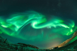 Tumblr, Blog, and Norway: Marco Bastoni photos-of-space:  Dragon Aurora over Norway