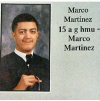 Best senior quote ever: Marco  Martinez  15 a g hmu  Marco  Martinez Best senior quote ever