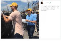 Earlier today, Tim Tebow was spotted helping hand out food and ice at a distribution center in the Florida Keys with Marco Rubio.: marcorubiofla  marcorublofia Great to have @timtebow with  me today handing out food and ice at a drive  thru distribution cente in the Keys  #Irma Recovery Earlier today, Tim Tebow was spotted helping hand out food and ice at a distribution center in the Florida Keys with Marco Rubio.