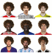 Memes, Hair, and 🤖: Marcos Fussbalecke  Marcos  FootbaliCorner  TrollFootball  The Tr  ollFootball Insta Tribute to Fellaini's hair https://t.co/cRVKo21pec