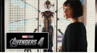 Memes, Ups, and Avengers: MARE STUDIOS  AVENGERS Evangeline Lilly reveals Wasp will NOT appear in AVENGERS: INFINITY WAR; will show up in AVENGERS 4 the following year. http://bit.ly/2ddca6r  (Andrew Gifford)