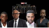 "America, Captain America: Civil War, and Confidence: MARE  STUDIOS Four new actors have been announced for the Black Panther cast.  Daniel Kaluuya (""Skins,"" ""Black Mirror,"" ""Sicario"") will play T'Challa's confidant W'Kabi, Forest Whitaker (""Roots,"" Lee Daniels' ""The Butler,"" ""The Last King of Scotland"") will play an elder statesman in Wakanda named Zuri, Winston Duke (""Person of Interest"") will appear as M'Baku, leader of a rival tribe in Wakanda, and Florence Kasumba will reprise her ""Captain America: Civil War"" role as Ayo, a member of the Dora Milaje.  Black Panther will be released February 16, 2018.  http://tinyurl.com/h52q8dk (Steven Hall)"