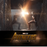 Captain America: Civil War, Iron Man, and Memes: MARE STUDIOS  IN NITY TWA TR. So the end of CAPTAIN AMERICA: CIVIL WAR had both Iron Man and Captain America at each other's throats. Obviously the rift between them will have to be repaired before the Avengers can take on Thanos in AVENGERS: INFINITY WAR.  Is there any possible way to repair this rift? Or can common ground be found between Tony Stark and Steve Rogers before things go south with Thanos?  Sound off in the comments below!   (Tim Costello)