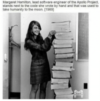 Wow - all that by hand! 🚨🚨NEW VIDEO ALERT🚨🚨link in 👉 @minoritymindset bio. Leave some love 🔥🔥🔥 FTM ThinkMinority @m2jaspreetsingh: Margaret Hamilton, lead software engineer of the Apollo Project,  stands next to the code she wrote by hand and that was used to  take humanity to the moon. [1969] Wow - all that by hand! 🚨🚨NEW VIDEO ALERT🚨🚨link in 👉 @minoritymindset bio. Leave some love 🔥🔥🔥 FTM ThinkMinority @m2jaspreetsingh