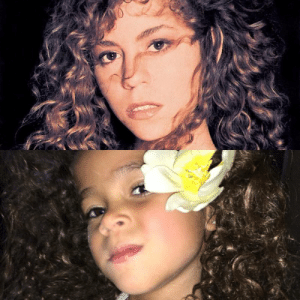 Tumblr, Blog, and Http: mariahcareysource:  Like mother like daughter