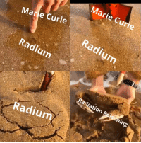 Marie Curie, Radiation, and Radium: Marie Curie  Marie Curie  Radium  Radiumm  Radiation Poisonin  Radiumm Marie Curie dying from radium poisoning (1934)