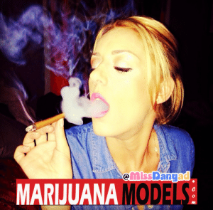 "marijuanamodels:  Marijuana Model : MissDanyad via instagram | ""Cali homegrown, I always twist my own  blaze my own."" : MARIJUANA MODE  0 marijuanamodels:  Marijuana Model : MissDanyad via instagram 
