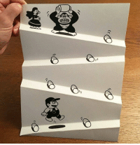 Donkey, Mario, and Art: Mario and Donkey Kong paper-art https://t.co/LBuETTchss