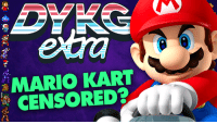 Check out the latest Did You Know Gaming? extra video, Mario Kart 8's Offensive Gesture Censored! https://www.youtube.com/watch?v=K_aNK3t7Pwc&list=PLr83cE2EzZE2XSJTAK_Mlq8B090NZi5At: MARIO KART  CENSORED Check out the latest Did You Know Gaming? extra video, Mario Kart 8's Offensive Gesture Censored! https://www.youtube.com/watch?v=K_aNK3t7Pwc&list=PLr83cE2EzZE2XSJTAK_Mlq8B090NZi5At