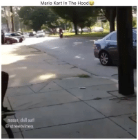 He gone😂💀 - Tag A Friend👌 Double Tap For More Videos👍 Follow 👉 @hoodvine ••••••••••••••••••••••: Mario Kart In The Hood  mason, chill out!  @streetvines He gone😂💀 - Tag A Friend👌 Double Tap For More Videos👍 Follow 👉 @hoodvine ••••••••••••••••••••••