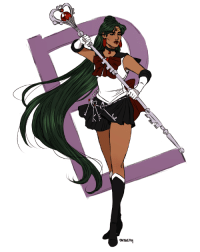 marisketch:  Guarded by Pluto, planet of space-time. I am the soldier of revolution, Sailor Pluto!: marisketch:  Guarded by Pluto, planet of space-time. I am the soldier of revolution, Sailor Pluto!