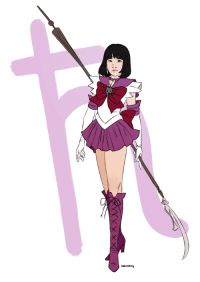 marisketch:    Guarded by Saturn, planet of ruin. I am the soldier of death and rebirth, Sailor Saturn!  : marisketch:    Guarded by Saturn, planet of ruin. I am the soldier of death and rebirth, Sailor Saturn!