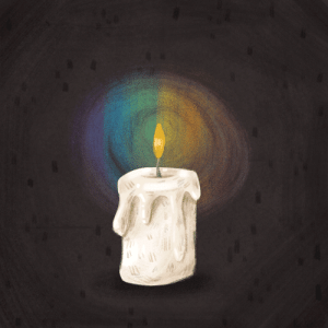 Target, Tumblr, and Blog: mariyapilipenko:  A candle for the victims of the Orlando shooting.