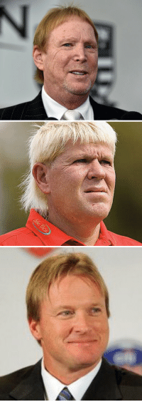 Sports, Russian, and Jon Gruden: Mark Davis looks like the smaller Russian nesting doll that fits snugly inside the slightly larger John Daly, and the medium sized Jon Gruden. https://t.co/HMa9gj4BAT