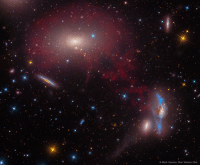 Stan, Tumblr, and Blog: Mark Hanson, Stan Watson Obs space-pics:  M86 in the Central Virgo Cluster [1143 x 943]