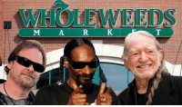 Breaking News: Chief Greenbud, Snoop Dogg, and Willie Nelson begin new sponsorship with WholeWeeds Market.: MARK  T Breaking News: Chief Greenbud, Snoop Dogg, and Willie Nelson begin new sponsorship with WholeWeeds Market.