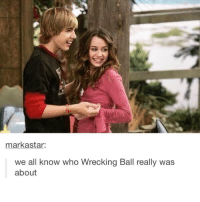 Ironic, Who, and Wrecking Ball: markastar  we all know who Wrecking Ball really was  about 🤔