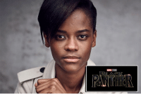 "Memes, Black, and Black Panther: MARNE Actress Letitia Wright (2018's ""Ready Player One"") has been added to the cast of BLACK PANTHER. http://tinyurl.com/jsbqbl7  (Brian)"