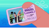 patrick: MARRIAGE  LICENSE  FİRST NAME PATRİCK  LAST NAME. STAR