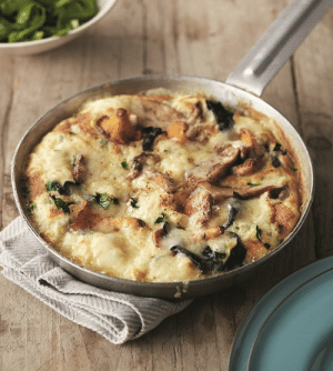Tumblr, Blog, and Wild: marriedfood:Wild Mushroom and Gruyere Cheese Omelette recipe